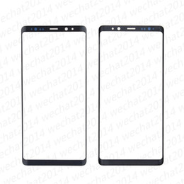 touch screen s6 Australia - OEM Front Outer Touch Screen Glass Lens Replacement for Samsung Galaxy Note 8 N950A N950F free DHL