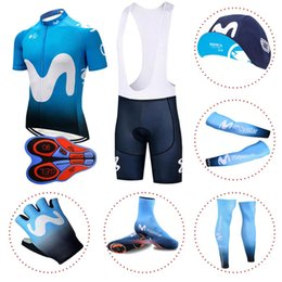 Pro team Movistar full set Cycling Equipment 100% Polyester cycling jerseys  quick dry bike clothing MTB Ropa Ciclismo Bicycle maillot 1015 88043acd7