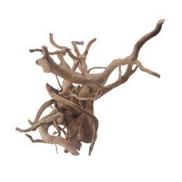 Опт Аквариум декор опускающаяся коряги паука древесины естественной Grapewood украшения аквариума тропических рыб места обитания растений декор размеры XS S М L ХL