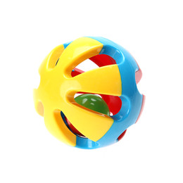 jingles bells UK - 3 Pcs Bell Ball Eco-friendly Plastic Baby Toy Fun Little Loud Jingle Ball Ring Jingle Develop Baby Intelligence Toy Gifts