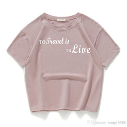 2018 summer new fashion women loose sweater T-shirt short-sleeved cotton  code printed shirt shirt six-color A8 ae9d3aebe