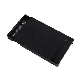 Usb enclosUre for hard drive online shopping - USB To SATA quot HDD Enclosure External Tool Free Case for SSD Hard Disk Drive