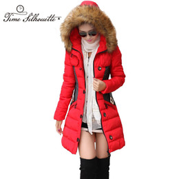 22f309a9d9f11 Brand New Winter Jacket Women Parka Coat Abrigos y Chaquetas Mujer Invierno  2018 Big Fur Collar Hood Clothing Anorak Jacket L02 Y18102401
