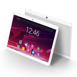 10 дюймов планшетный ПК Android 7.0 Google Play магазин 4 ГБ оперативной памяти 64 ГБ ROM 8 ядер 1280 * 800 IPS экран WiFi A-GPS таблетки 10.1 подарки