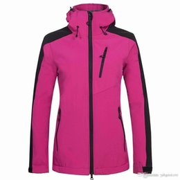 Discount ladies softshell jacket - Free shipping new ladies tops best selling light version jacket outdoor sports jacket soft shell clothing & hoodies)