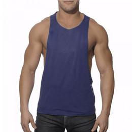 0055c4b1ca Wholesale- New Men's Vivid Tank Tops Low Cut Armholes Vest Sexy Tank Xman  Muscle Man's Fitness Tanktop Bodybuilding Singlet Shirt