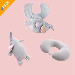 $enCountryForm.capitalKeyWord NZ - Travel U Pillow Cute Animal Pillow Foam Particle U Shaped Pillow Kawayi Neck Pillows Neck Cervical Free Shipping