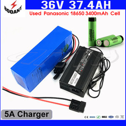 Motor Bicycles Australia - 18650 Cell Scooter Lithium Battery 36V 37Ah For Bafang 1500W Motor Electric Bicycle Battery 36V With 5A Charger Free Shipping