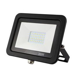 Ultrathin Floodlight UK - 15pcs lot ultrathin LED flood light 10w 20w 30w 50w waterproof smd floodlight 220w outdoor led lights for garden wall