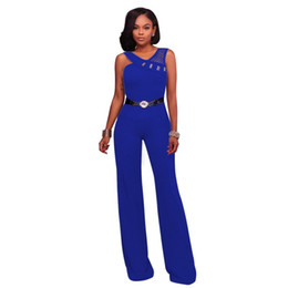 $enCountryForm.capitalKeyWord UK - Zmvkgsoa Wide Leg Jumpsuits Overalls For Women Europe Style Sexy Hollow Out Elegant jumpsuit Romper Feminino New Arrival Y1852