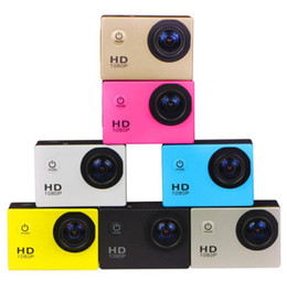 waterproof helmet cams Australia - 20pcs SJ4000 1080P Helmet Sports DVR DV Video Car Cam Full HD DV Action Waterproof Underwater 30M Camera Camcorder free of charge DHL