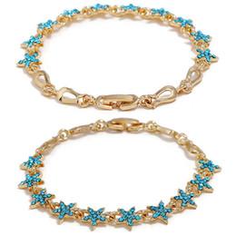 Czech Crystal Sets Australia - Fashion 2 Colors Pentagram Star Crystal Bracelet Made With Czech Crystal Romantic Fashion Jewelry Gift For Women Lady Girlfriend