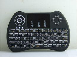 Wireless Backlit Blacklight Tastatur H9 Fly Air Maus Multimedia Fernbedienung Touchpad Handheld Für Android TV BOX