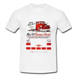 54 Car Australia - 54 Chev Truck Mens Retro Vintage T-shirt Tee Chevy Chervolet 50s Car Ute