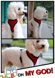 dog vest harnesses NZ - C06 NEW Adjustable Soft Breathable Dog Harness Nylon Mesh Vest Harness for Dogs Puppy FREE SHIPPING