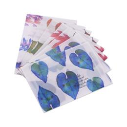 Paper Gift Envelopes UK - 8 Pcs Vintage Handmade Paper Envelopes Set for Gift Card Invitation Package For Gifts