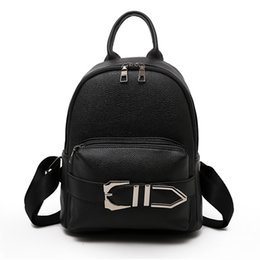 $enCountryForm.capitalKeyWord NZ - High Quality Pu Leather Patchwork Women Bag 2018 New Fashion Shoulder Bags Famous Brand Pocket Backpack School Bags For Girls