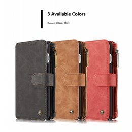 Luxury iphone 5s ceLL phone cases online shopping - Leather Wallet Case for iphone s SE s Plus X Fashion Luxury Retro Vintage Cell Phone Case Cover Shell