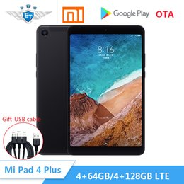 "Chinese  Original Xiaomi Mi Pad 4 Plus mipad 4 Tablets 8"" Snapdragon 660 AIE 13MP+5MP LTE 64GB 128GB Tablet PC Tablet Android 8620mAh manufacturers"
