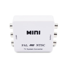 Mini HD PAL NTSC Mutual Conversion TV System Converter Adapter for Single-format Video Equipment on Sale