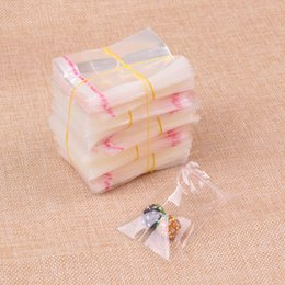 $enCountryForm.capitalKeyWord Canada - Clear 200pcs 5x5cm+2cm Cellophane Package Plastic Gift Bags Jewelry Packaging Bag Plastic Poly OPP Bag Self Adhesive Seal Bags