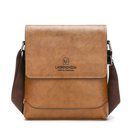 korean leather bags for men 2019 - Vogue PU Leather Men Tablet Bag Shoulder Messenger Bags for Work Travel School Fashion Korean Style Crossbody Pouch Blac