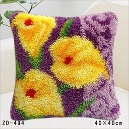 $enCountryForm.capitalKeyWord NZ - Flower Patterns Woolens Cushion Cover Home Office Sofa Square Pillow Case Decorative Cushion Covers Pillowcases Without Pillow Core