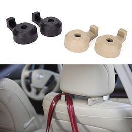 Discount car sales organizer - 2Pcs Car Seat Back Hanger Organizer Hook Universal Holder Color Invisible Backrest hook hot sale NNA848