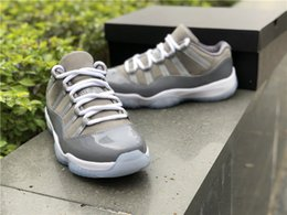 6962a859a5d614 2018 HOTTEST 11 528895-003 LOW COOL GREY MEN BASKETBALL SHOES