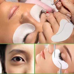Опт 6000pcs Thin Hydrogel Eye Patch для наращивания ресниц под глазными накладками Lint Free Gel Pads Moisture Eye Mask Wholesale