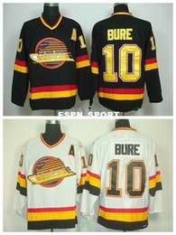 bdc9544d193 Factory Outlet, Discount Mens #10 Pavel Bure Jersey Vancouver Canucks Home  Black Road White Authentic Stitched Hockey Jerseys Best quality