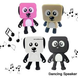 $enCountryForm.capitalKeyWord NZ - 1PCS Portable Wireless Bluetooth Stereo bass Loudspeaker Small Square Dancing Robot Dog Sound Bass Music Speaker