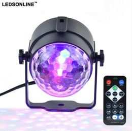 $enCountryForm.capitalKeyWord Australia - Mini RGB 3W Crystal Magic Ball Led Stage Lamp DJ KTV Disco Laser Light Party Lights Sound IR Remote Control Christmas Projector