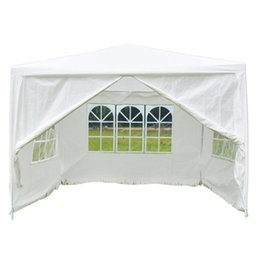 China Four Sides Portable Home Use Waterproof Folding Tent White 10 x 10ft cheap tent waterproofing suppliers