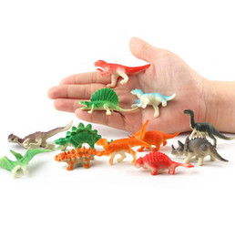 Mini plastic aniMal toys online shopping - Dinosaur Simulation Model set cm Mini Animals Toy Jurassic Action Figures Kids Toys Novelty Items OOA5786