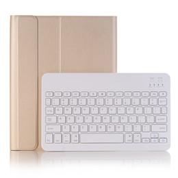 $enCountryForm.capitalKeyWord Australia - Ultra Thin PU Leather Case with Portable Wireless Bluetooth ABS Keyboard for Apple iPad Pro 10.5 inch +Stylus A09B