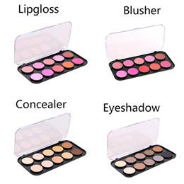 $enCountryForm.capitalKeyWord NZ - Makeup palette custom 2018 Beauty 10 color Matte shimmer eye shadow Palette smoky eyeshadow Blusher Face Concealer Lipstick Make Up palette