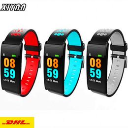 $enCountryForm.capitalKeyWord Australia - DHL Free Shipping Wholesale X20 Smart Watch Bracelet Blood Pressure Oxygen Heart Rate Monitor Bluetooth Smart Wristband Sports Smart Band