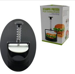 China Burger Meat Press Maker Plastic Stuffed Burger Press Meat Beef Hamburger Maker Kitchen Cooking Tool cheap cooking beef suppliers
