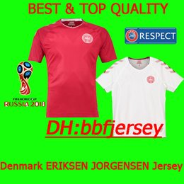 Thailand special edition Soccer Jersey 2018 ERIKSEN JORGENSEN SCHONE Denmark  jerseys camiseta de futbol 2018 World Cup football shirts b5a5ccc15