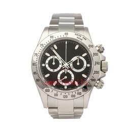 Power Bracelet Watches Australia - Mens Wristwatches Auto 40mm White Gold Mens Bracelet Watch Chrono 116518LN 116508 116509 116500LN Mens Mechanical Automatic Watches