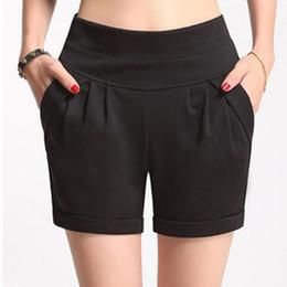 White Shorts Australia - Casual Solid Elestic Waist Shorts Women Bottom Streetwear Summer Shorts 2018 Beach White High Waist Shorts Femme