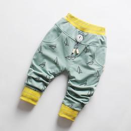 $enCountryForm.capitalKeyWord Australia - DIIMUU New Fashion Baby Boys Clothing Casual Trousers Infant Boy Apparel Elastic Waist Clock Tie Print Autumn Spring Long Pants