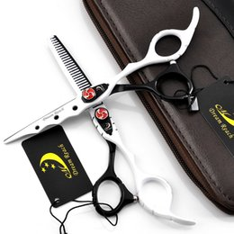 $enCountryForm.capitalKeyWord Australia - 2018 Hot White And Black 6.0 Inch Hairdressing Scissors Barber Hair Cutting Shears Hairdresser Equipment Tool With High Quality