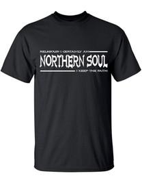 Northern Soul Camiseta Mantenga la fe Religiosa Divertida Funky Danza Funk Soul de los hombres en venta