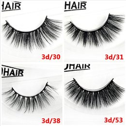 $enCountryForm.capitalKeyWord Canada - 12 Styles Factory Wholesale 100% Mink lashes full strip handmade 1pair box false eyelashes Plastic Black Band DHL Free Shipping
