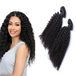 $enCountryForm.capitalKeyWord Australia - Afro Curl Virgin Hair Brazilian Malaysian Indian Cambodian Mongolian Kinky Curly Human Hair Weave Bundles 8A Africa Curl Unprocessed