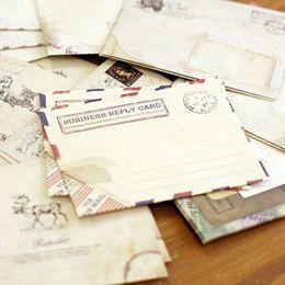 12 pçs / lote Vintage mini envelope para o Dia Dos Namorados de Natal escrita do casamento Carta OfficeSchool Suprimentos feriado universal
