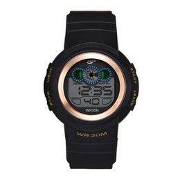 China Hot Luxury Designer Watch Sport Military Brand Mens Watches 30m Waterproof Electronic Digital Wristwatches Clock Relojes Gifts cheap electronic rubber mens watch suppliers