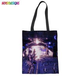 8213939100e4 Summer Beach Casual Tote Bags Fortnite Games Pattern Bags For Women  Messenger Bag 2018 Girls Handbag Cheap Canvas Shoulder